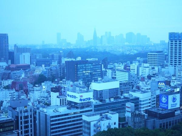 窓からの景色 新宿方面