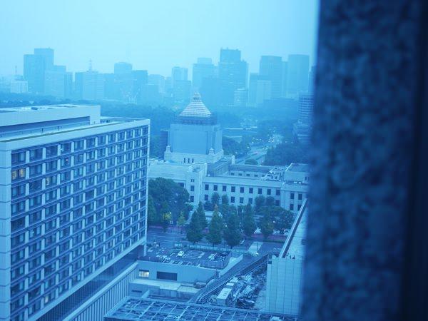 窓からの景色 国会議事堂