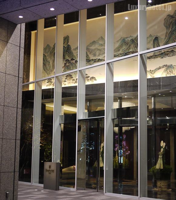 丸の内トラストタワー本館1Fホテル入り口画像