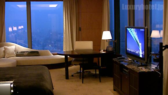 シャングリ・ラホテル東京部屋全体画像2