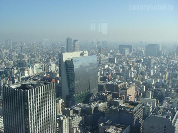 シャングリ・ラホテル東京プレミアルーム景色2