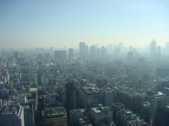 シャングリ・ラホテル東京プレミアルーム景色
