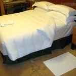 シャングリ・ラ ホテル 東京ターンダウン ベッド画像2
