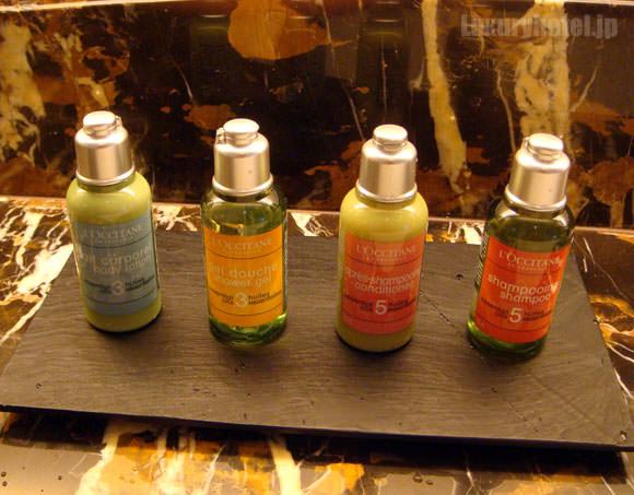 シャングリ・ラ ホテル 東京 ターンダウンシャンプー画像
