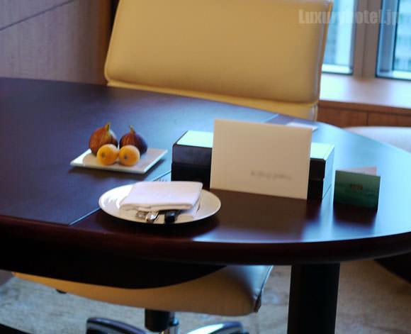 シャングリ・ラ ホテル 東京 ウェルカムスイーツ参考画像
