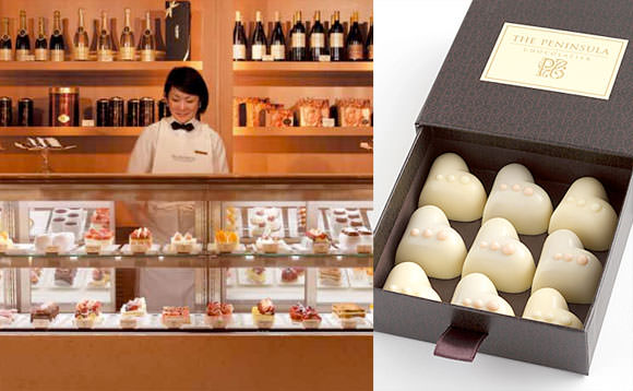ペニンシュラ東京 ホワイトデー限定チョコ画像