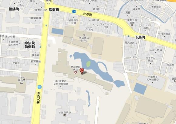フォーシーズンズホテル京都予定地画像