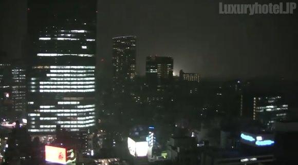 ザ・キャピトルホテル東急映像キャプチャ夜景