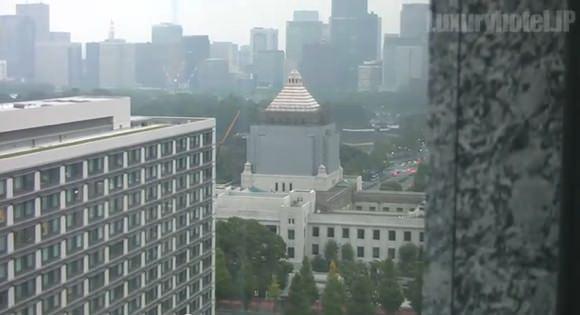 ザ・キャピトルホテル東急映像キャプチャ国会議事堂