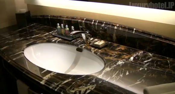 シャングリ・ラ ホテル 東京バスルームキャプチャ画像