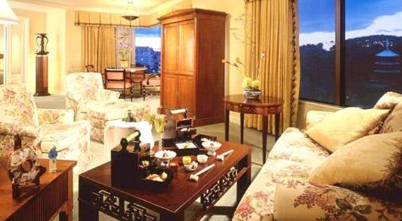 フォーシーズンズホテル椿山荘スイート画像