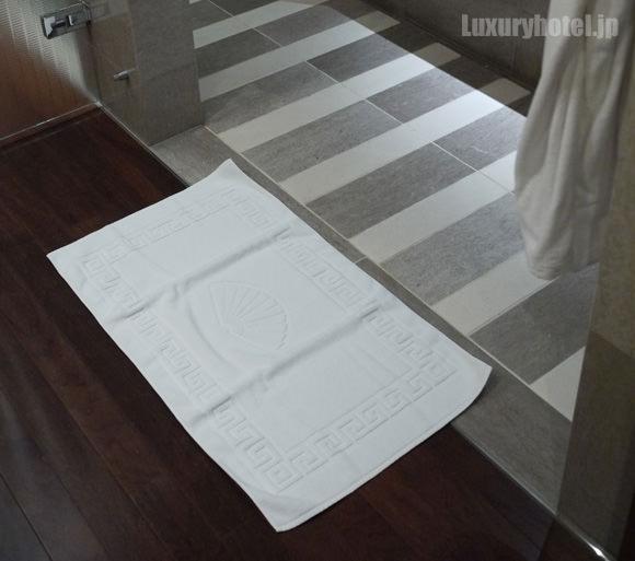 バスルームのバスマット