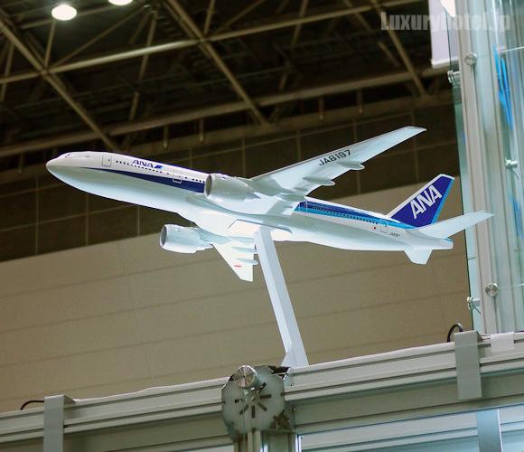 ANA飛行機模型