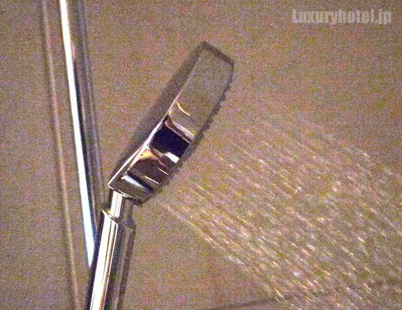 ハンドシャワー全体から出る水
