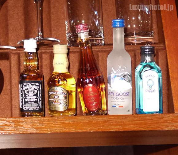 引き出しのアルコール類拡大