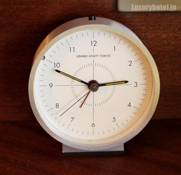 グランド ハイアット 東京の目覚まし時計