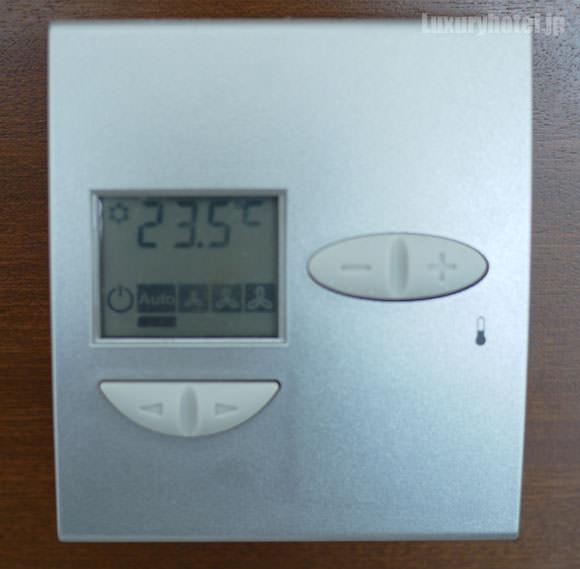 部屋の温度