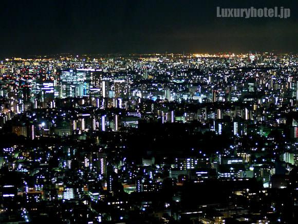 展望台から見える東京の夜景