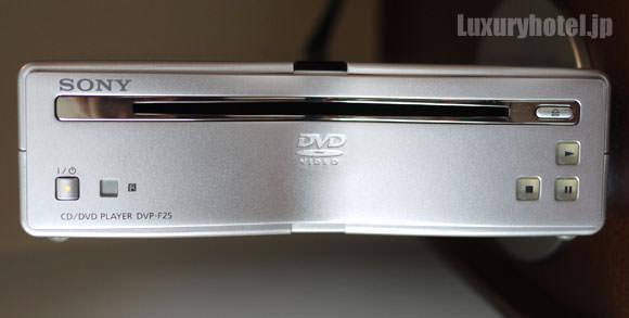 DVDプレーヤーはソニーのDVP-F25