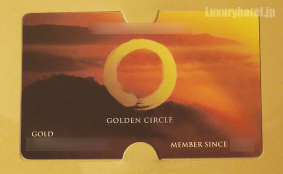 ゴールデンサークルカード