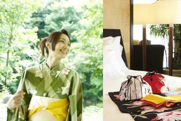 シェラトン都ホテル東京 浴衣画像