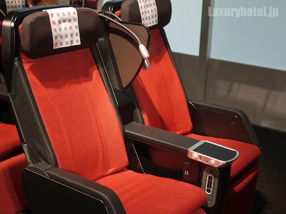 JAL新座席 プレミアムエコノミー