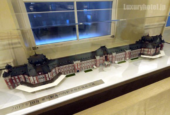 東京駅 ドーム2階の模型