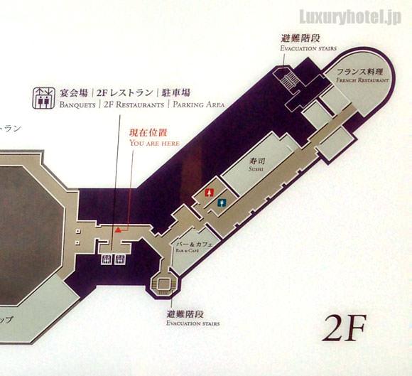 東京ステーションホテル 2階の見取り図拡大
