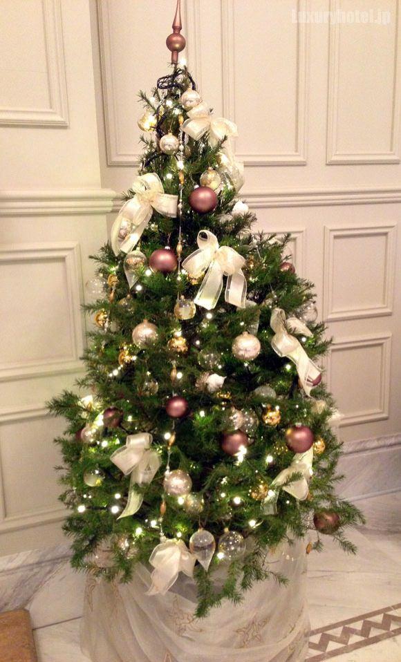 東京ステーションホテル クリスマスツリー