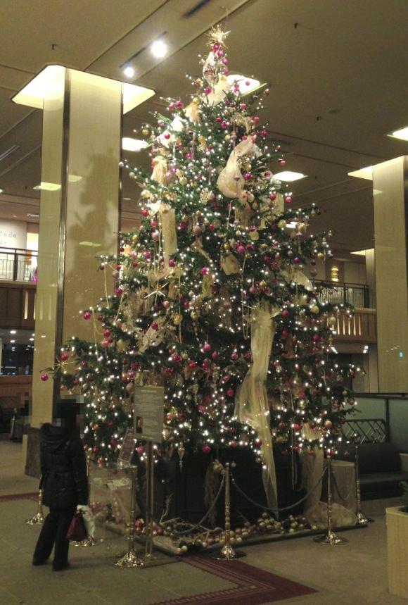 帝国ホテルクリスマスツリー