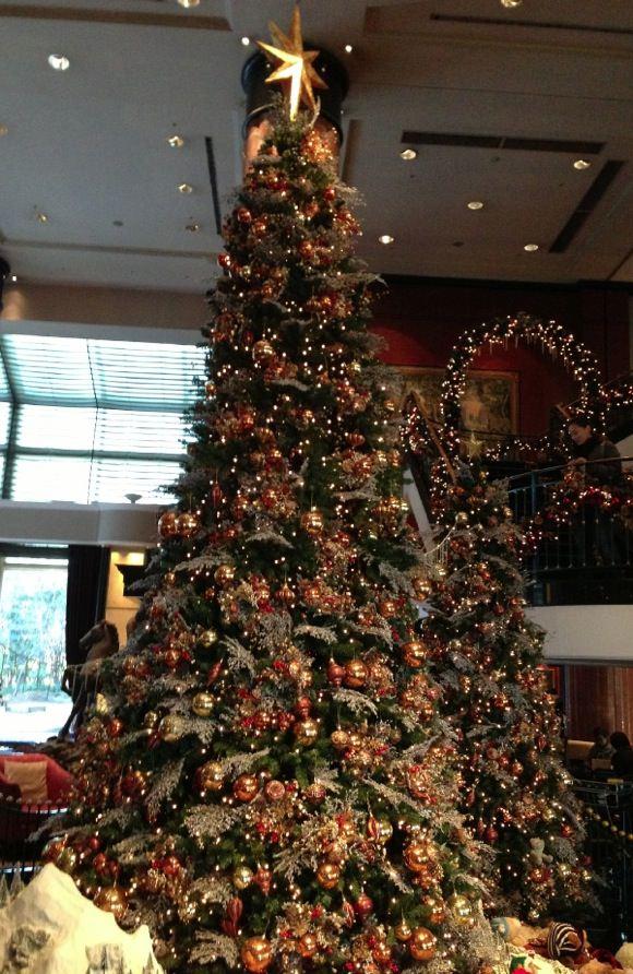 ウェスティンホテル東京 クリスマスツリー