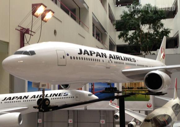JAL M1ビル 飛行機のラジコン