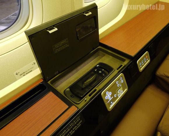 JAL 777 ファーストクラス コントローラー