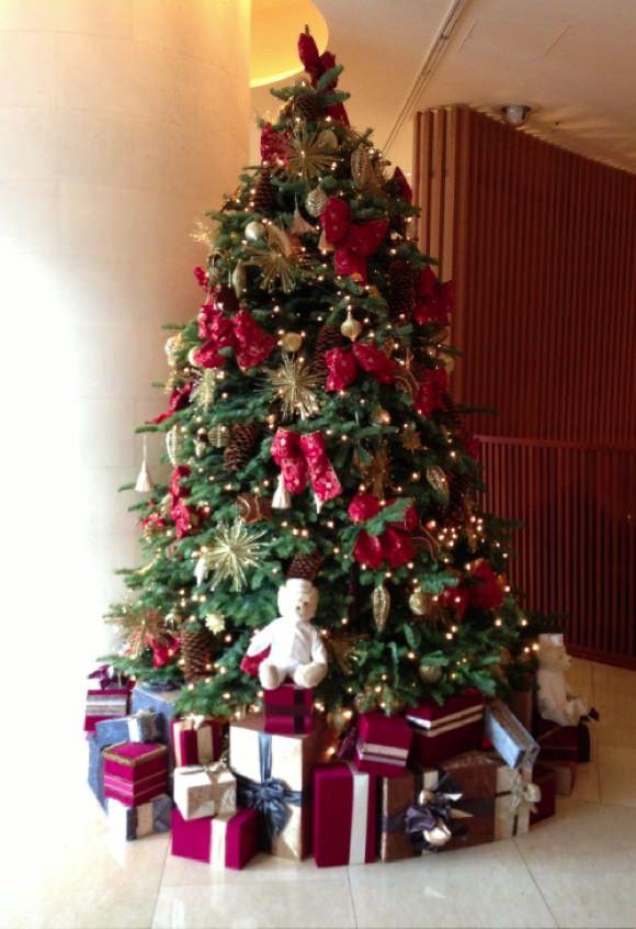 ザ・ペニンシュラ東京 クリスマスツリー