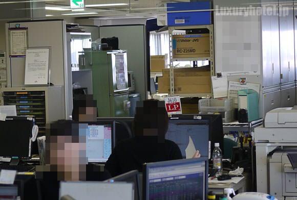JAL ステーションコントロールセンター内 LP部署