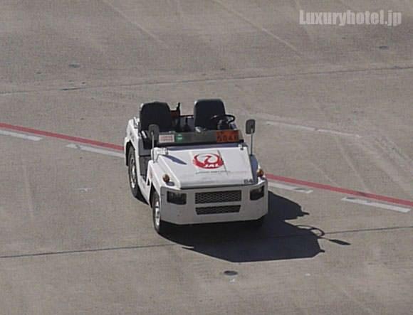 JALの飛行場専用自動車
