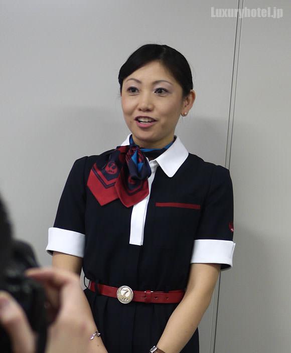 JAL ファーストクラス 機内食 開発担当CAさん