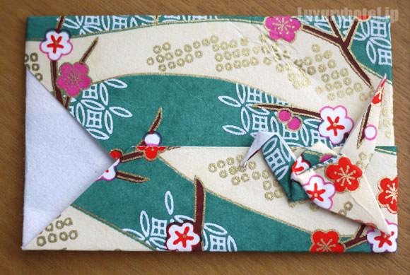 JAL 折り紙カードケース