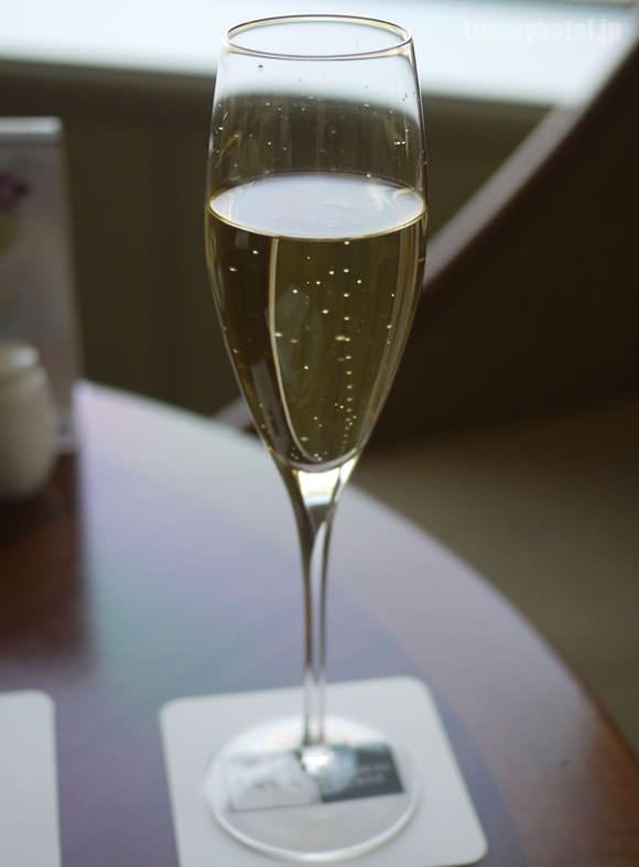 帝国ホテルのシャンパン