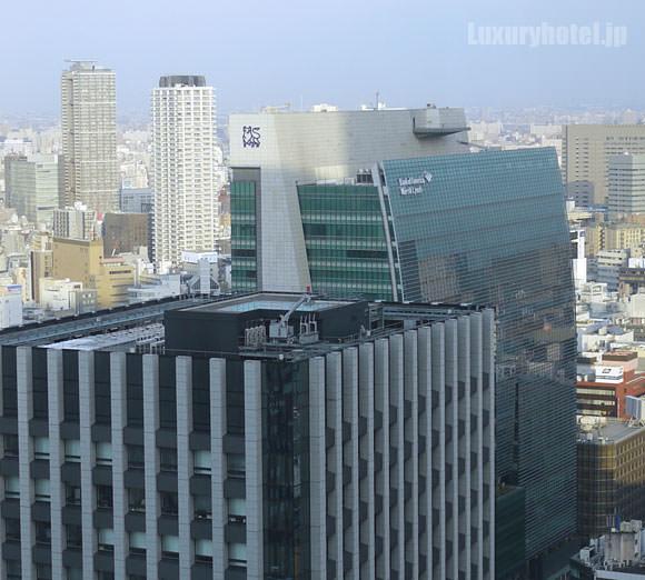 シャングリ・ラ ホテル 東京 ロビーラウンジ景色