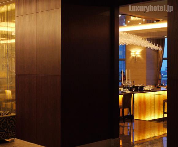 シャングリ・ラ ホテル 東京 ロビーラウンジ入り口