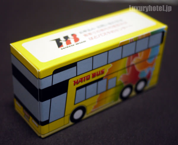 はとバス バス型ティッシュ1