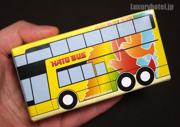 はとバス バス型ティッシュ 小さい
