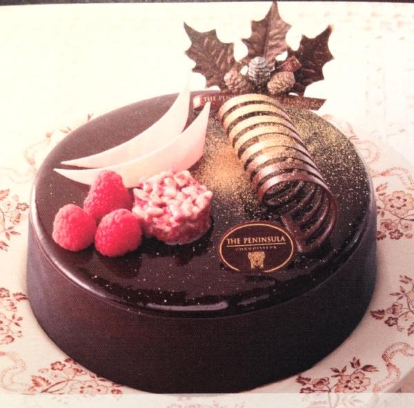 ザ・ペニンシュラ東京 クリスマスケーキ ル・ブリアン