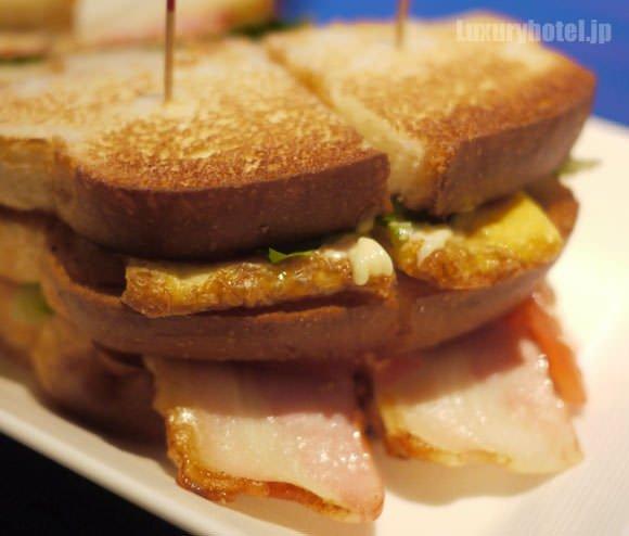 パレスホテル東京 プリヴェ サンドイッチの具がすごい