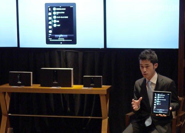 ボーズ soundtouch wi-fi music system 社員の方による説明