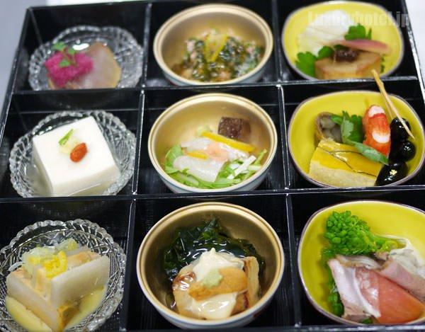 JALビジネスクラス機内食BEDD 和食 9つの小鉢膳