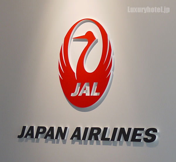 JAL SKY MUSEUM 1階入り口のロゴ