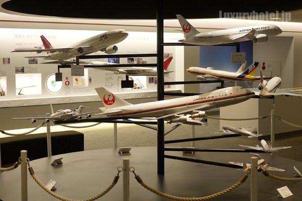 JAL SKY MUSEUM 飛行機の模型