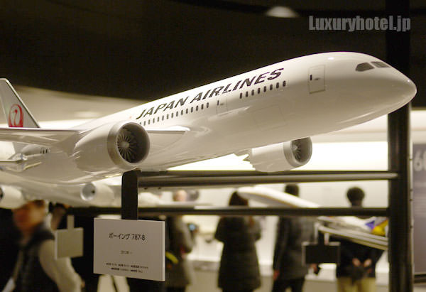 JAL SKY MUSEUM ボーイング787